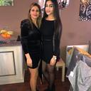 Fadia (links) en Ahlam (rechts).