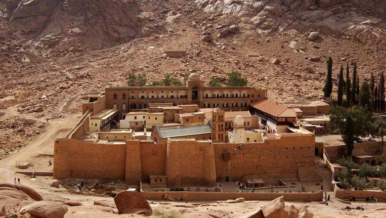 Het Sint-Catharinaklooster in Egypte. Beeld Creative Commons 3.0, Berthold Werner