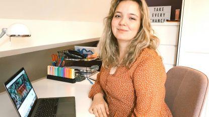 Hasseltse influencer Amber Jans promoot Hasselt vanuit haar kot