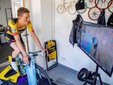Teunissen na virtuele Ronde van Vlaanderen: 'Het was afzien'