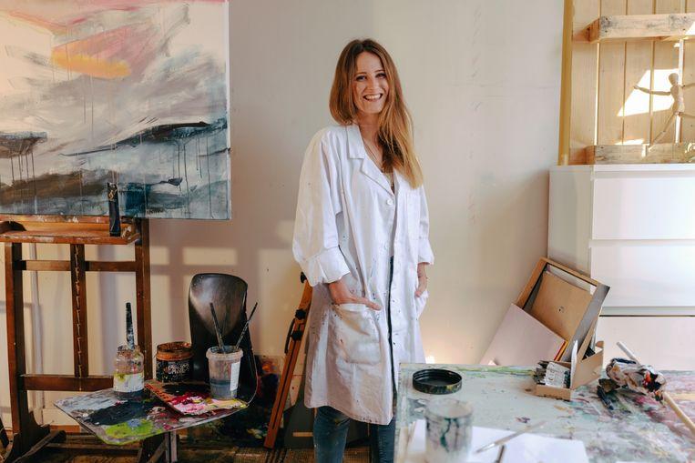 Kunstenares Charlotte Debaere Beeld Damon De Backer