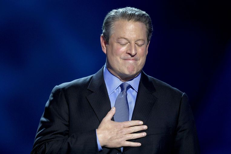 Al Gore won de Nobelprijs voor de Vrede in 2007. Beeld AFP
