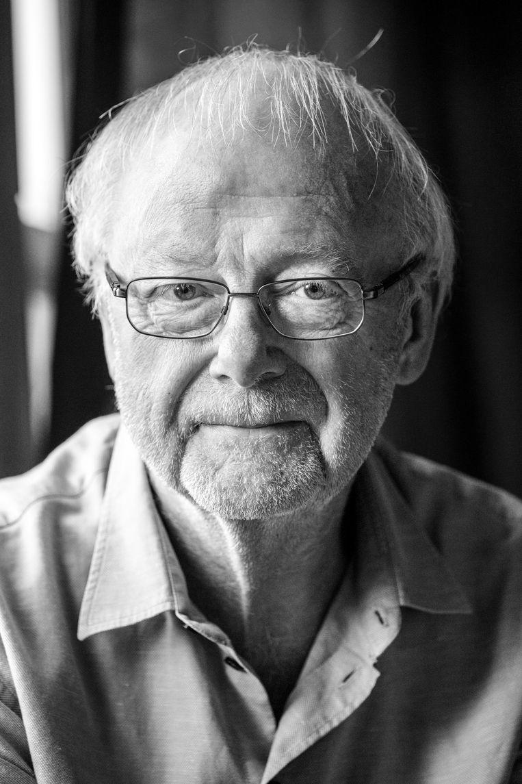 Louis Andriessen, componist en een van de grondleggers van de Haagse School. Beeld ANP