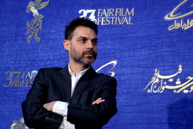 De Iraans-Amerikaanse acteur, scenarist en regisseur Payman Maadi in 2019, op het Fajr Film Festival in de Iraanse hoofdstad Teheran. Beeld Hollandse Hoogte / AFP