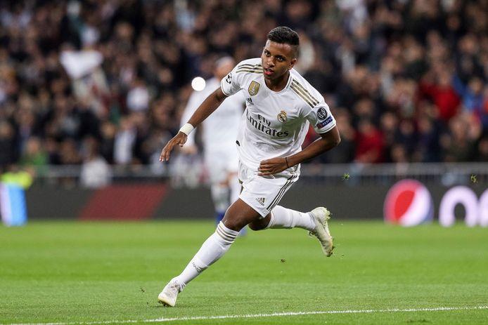 Rodrygo Goes scoorde twee keer in zeven minuten voor Real Madrid.