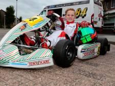 Luca (9) uit Leerbroek verovert de kartbaan: 'Ik wil zo snel worden als Max Verstappen'
