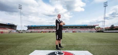 Helmond Sport-trainer Robby Alflen heeft zijn lesje geleerd: 'Ik ben niet van het rauzen en rammen'