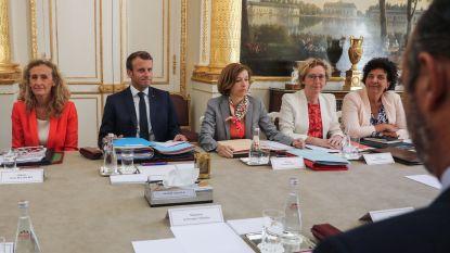 Macron houdt het werk van zijn ministers nauw in de gaten via app