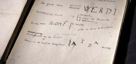 Na een eeuw opgedoken en nu voor iedereen toegankelijk: Letterenhuis toont uniek manuscript van Paul van Ostaijens 'Bezette stad'