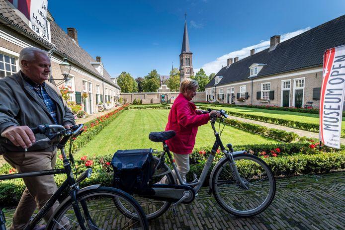 Het Paulushofje in etten-Leur is al vele jaren deelnemer aan de landelijke Monumentendag, zoals hie rin 2017.