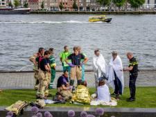Boetes voor schippers voor sloepongeluk op de Nieuwe Maas in Rotterdam: 'Geen verwijtbare nalatigheid'