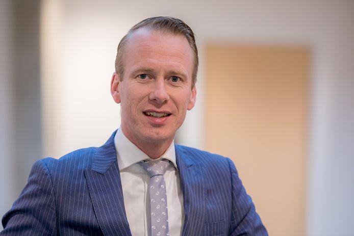 Wethouder Cees van den Bos van Schouwen-Duiveland.
