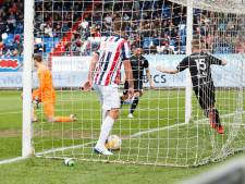 Willem II weer te gast op een feestje: kans op play-offs flinterdun
