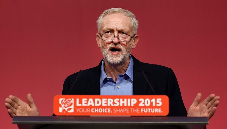 Jeremy Corbyn staat voor de vreselijk moeilijke taak Labour weer eendrachtig te maken. Beeld epa