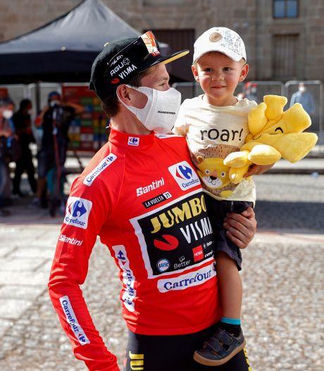 Roglic twee ritten verwijderd van derde eindzege op rij in Vuelta: 'Het ziet er goed uit'