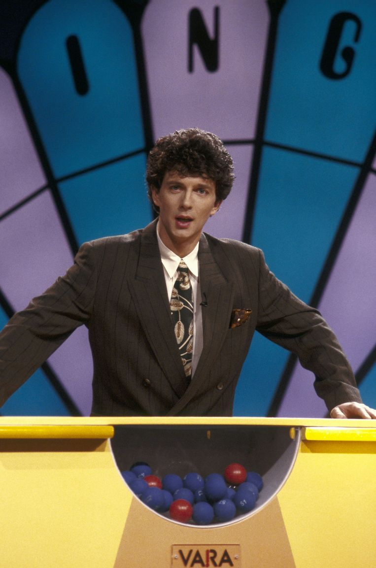 Robert ten Brink was de eerste presentator van Lingo. Beeld anp