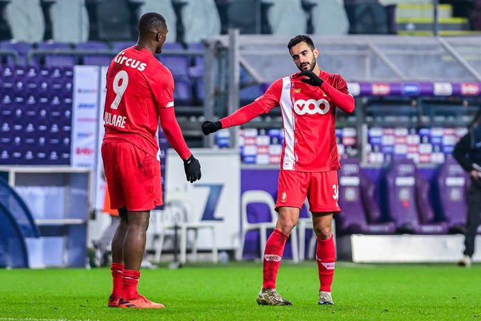Obbi Oulare espérait commencer à Anderlecht, il a dû se contenter du dernier quart d'heure.
