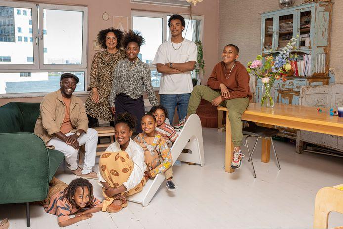 De familie Cudogham uit Een Huis Vol.