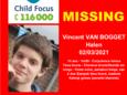 Vincent Van Bogget a disparu depuis mardi
