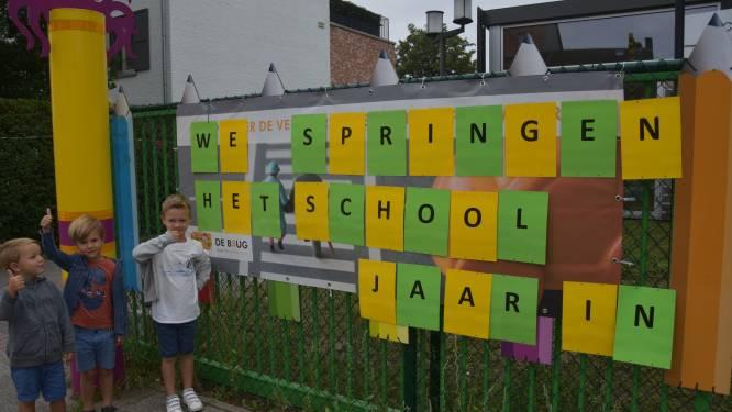 Leerlingen van De Brug springen het nieuwe schooljaar in