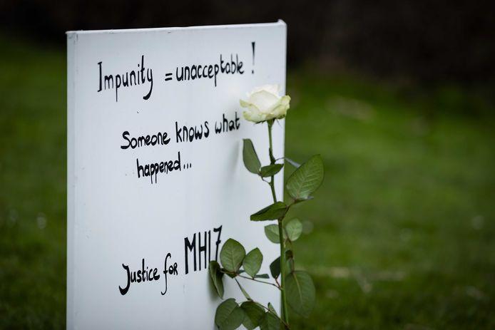 Bij de crash kwamen alle 298 inzittenden om, onder wie 196 Nederlanders.