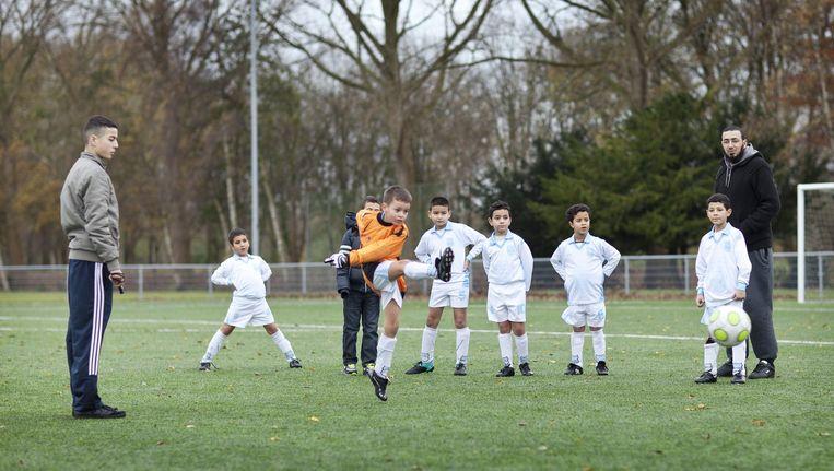Veel Amsterdamse clubs weerspreken de kritiek op allochtonen Beeld Marc Driessen