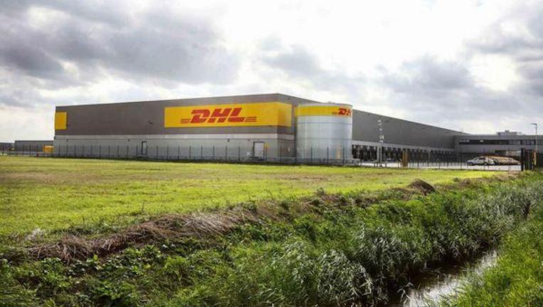 Het nieuwe sorteercentrum op de Atlasweg Beeld DHL Parcel