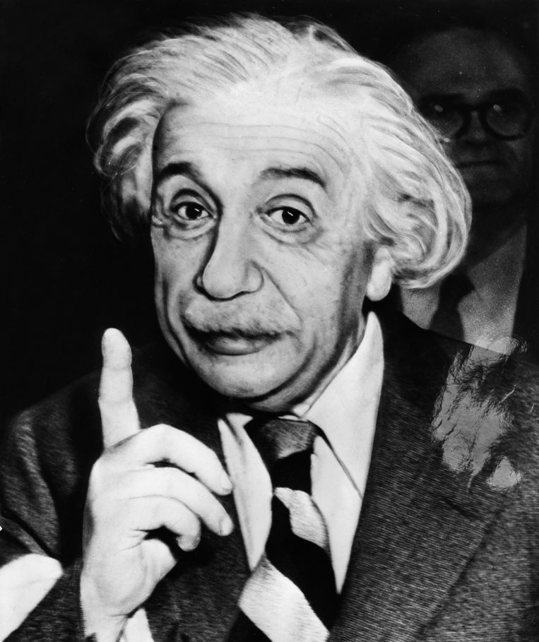 Albert Einstein: 'If we knew what we were doing, we wouldn't call it research.' Beeld ullstein bild via Getty Images