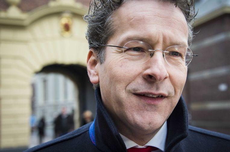 De Nederlandse Financiënminister Jeroen Dijsselbloem. Beeld ANP
