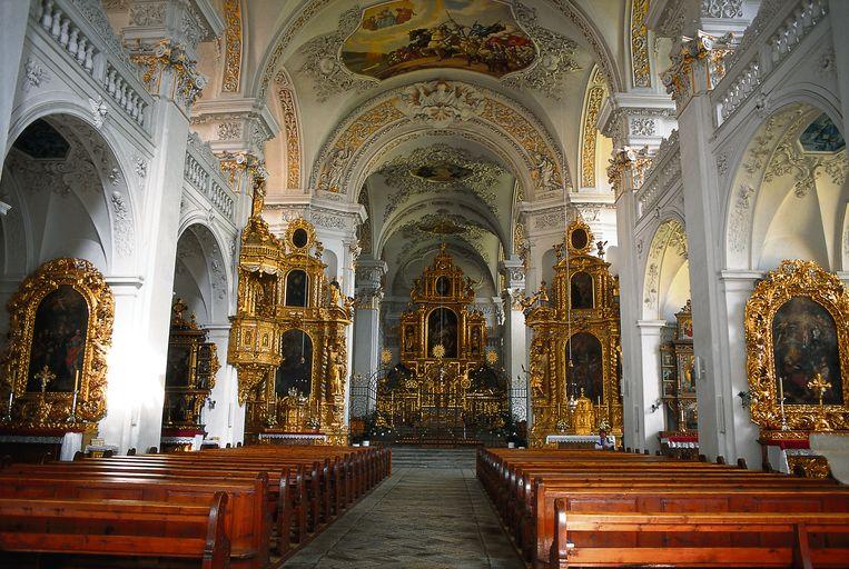 Benedictijnenklooster in Disentis. Beeld Sedrun Tourismus