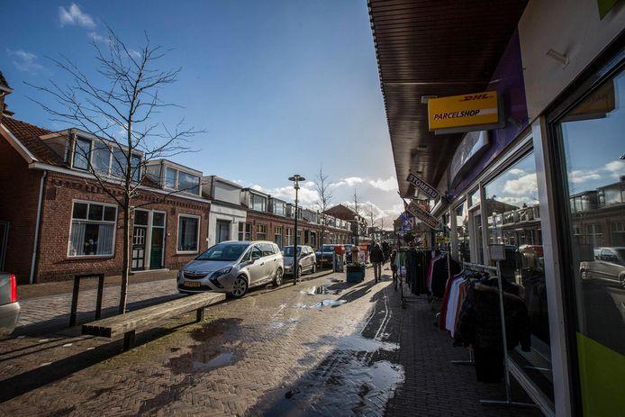 De Dijkhoornseweg kent amper leegloop.