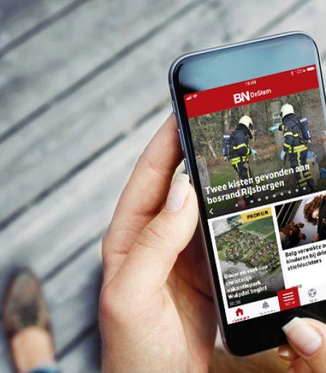 In deze tijd zien lezers het voordeel van de BN DeStem app: Snel op de hoogte zijn wat er speelt