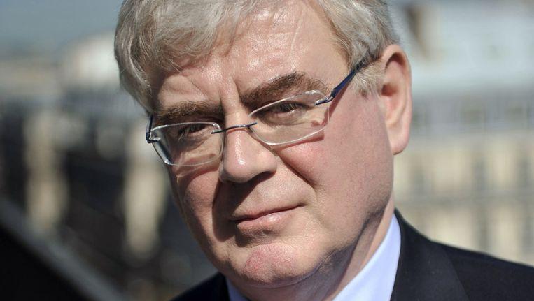 Eamon Gilmore, Iers minister van Buitenlandse Zaken. © ANP Beeld