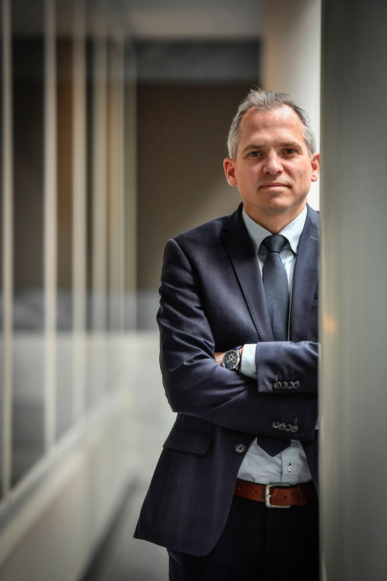 Vlaams minister van Financiën en Wonen Matthias Diependaele (N-VA). Beeld Geert De Rycke