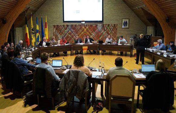 De gemeenteraad van Wingene