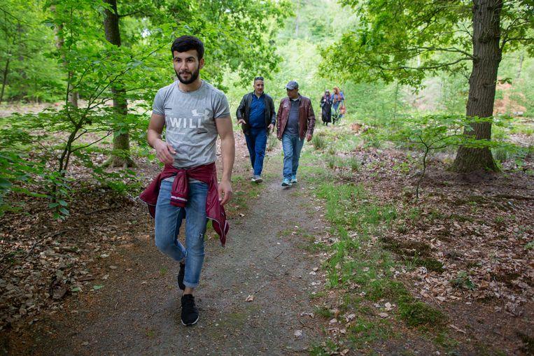 Wandeling door het Speulderbos. Beeld Herman Engbers