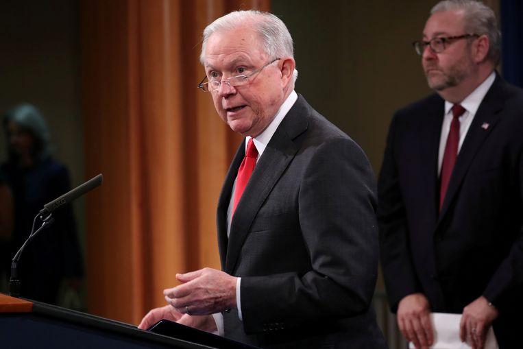 Jeff Sessions wil opnieuw in de Senaat zetelen.