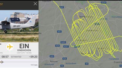 Vliegtuigje maakt gedetailleerde beelden om te verwerken tot 3D-kaart