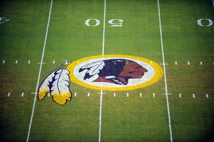 Het logo van de Washington Redskins