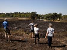 Opluchting over beperkte schade na brand in vennen
