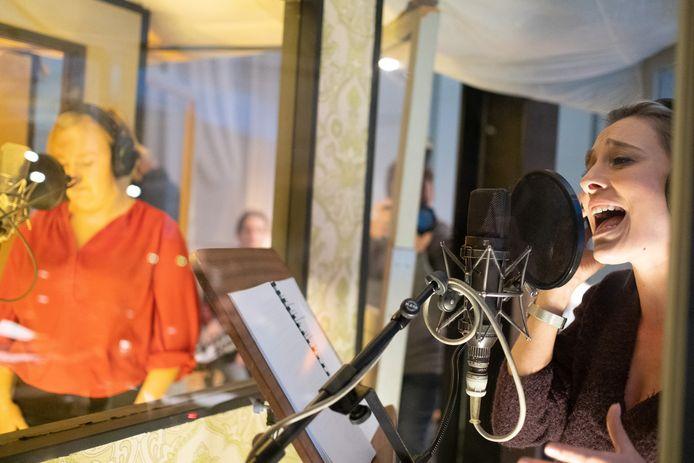 MECHELEN cast Iedereen Beroemd neemt cd op bij Motor Music