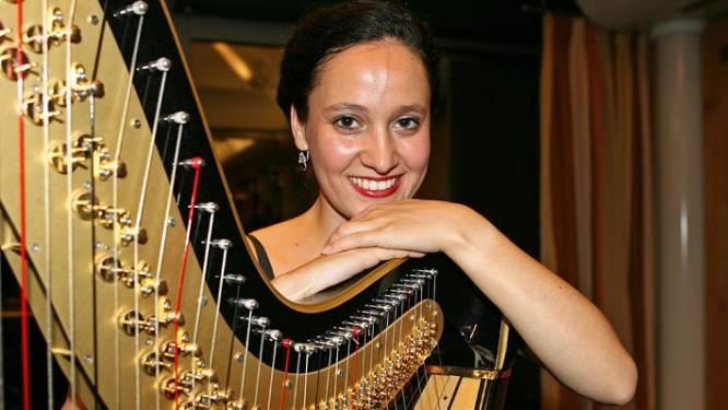Wereldbekende harpiste Florence Sitruk speelt dit weekend in Antwerpen