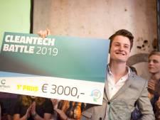 Finalisten van Hogeschool Saxion en Aventus Apeldoorn  in de race voor Cleantech Battle 2021