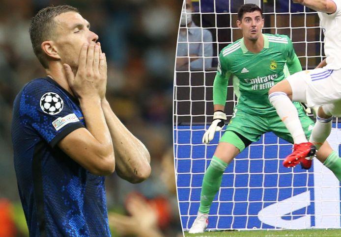 Courtois a écœuré les attaquants de l'Inter
