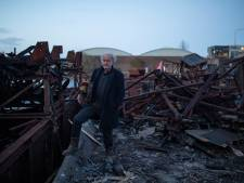Kunstenaar woest om ontmanteling drijvend atelier: 'Ze slopen het naar de klote'