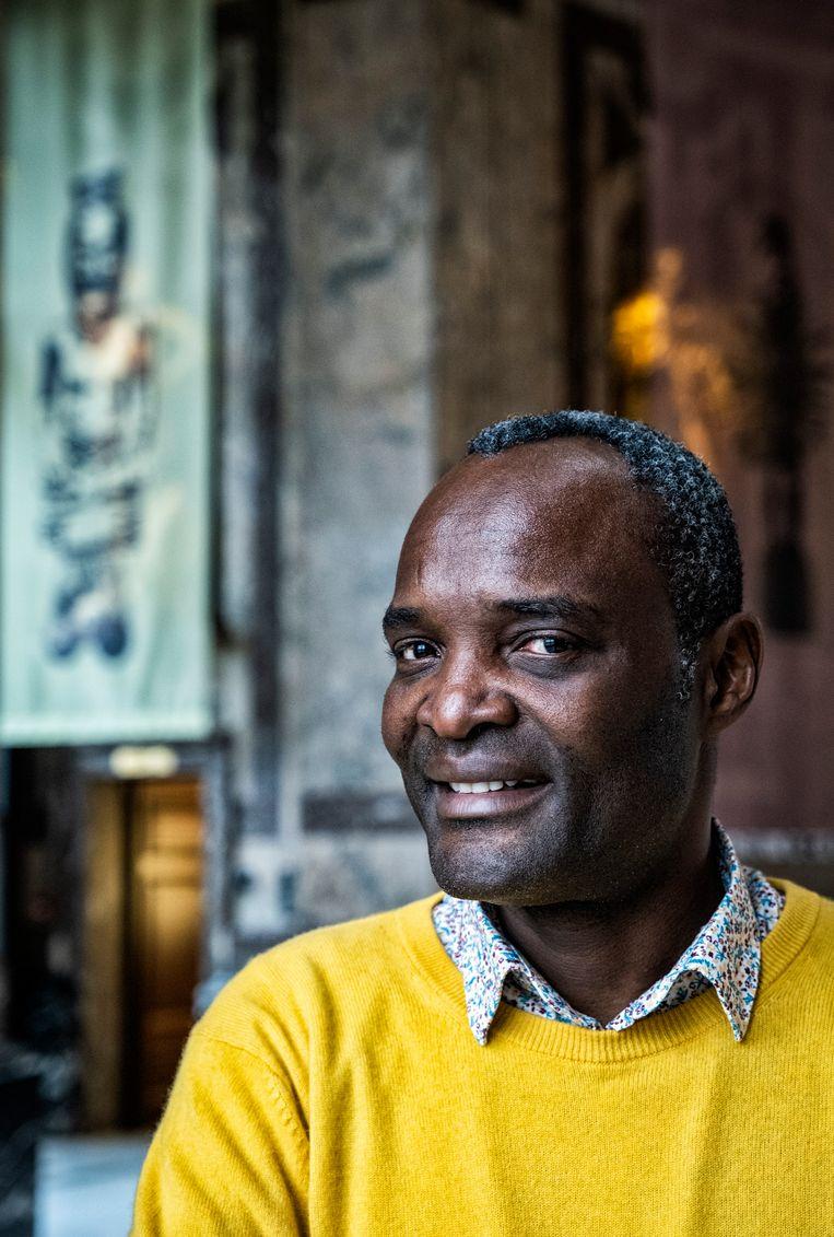 Aimé Mpane: 'Voor mij is spijt nooit te laat. Wat wel telt is de oprechtheid waarmee de woorden worden uitgesproken.' Beeld Tim Dirven
