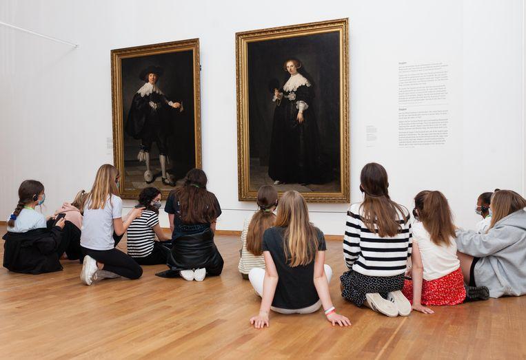 De slavernijtentoonstelling in het Rijksmuseum. Beeld Nina Schollaardt