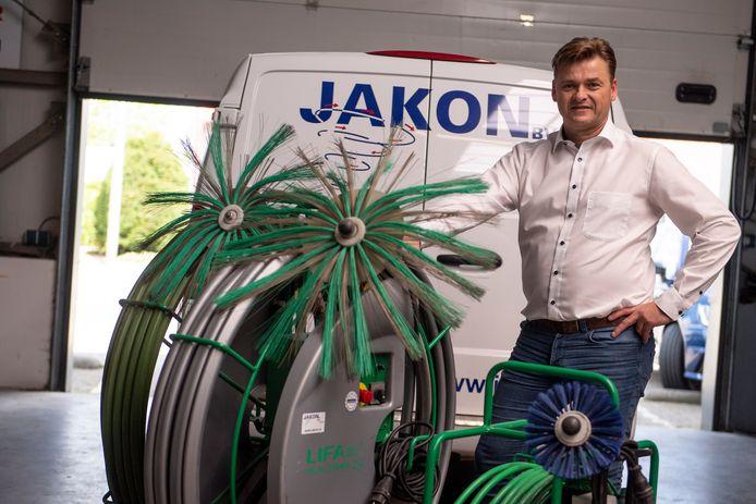 Gerdinand Jansen van Jakon Air ziet de vraag naar schoonmaken van filtersystemen toenemen.