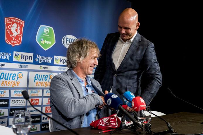 Gertjan Verbeek en Jan van Halst.