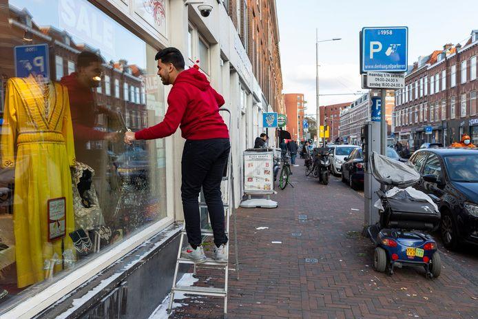 Paul Krugerplein in de Haagse wijk Transvaal